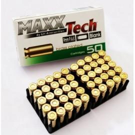 MUNICION FOGUEO 9MM MAXX TECH 1x50