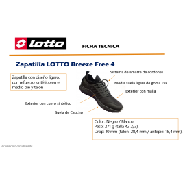 Zapatilla LOTTO Breeze Free 4