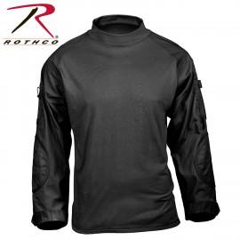 ROTHCO TACTICAL AIRSOFT COMBAT SHIRT NEGRA