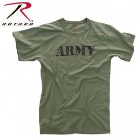 POLERA ROTHCO VINTAGE ARMY
