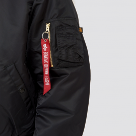 B-15 FLIGHT JACKET NEGRA