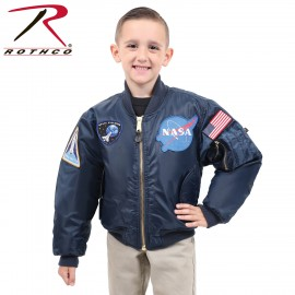 CHAQUETA AVIADOR PARCHES KIDS ROTHCO