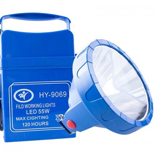 LINTERNA FOCO LED RECARGABLE MANO 55 W HY-9069