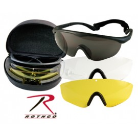 KIT LENTES TACTICOS INTERCAMBIABLES