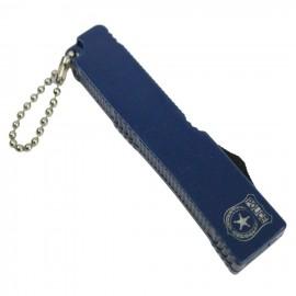 "Defender Mini 5 ""KeyChain Knife Acero inoxidable P Mango azul KeyChain Lock"