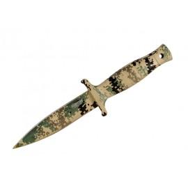 """Cuchillo de caza Defender Extreme Desert Camo de 9 """"con funda"""